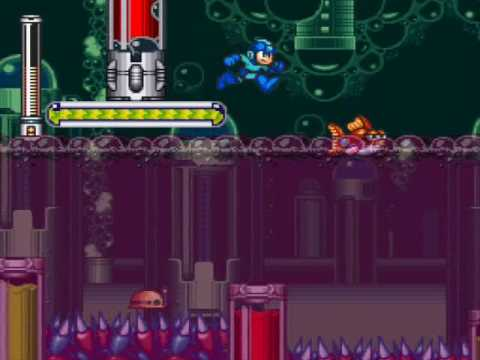 Mega Man 7 Review (SNES) Mm7burst