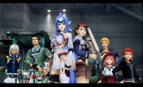 Xenosaga Characters